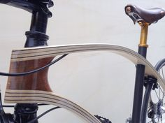 www.animusbike.it made with ash Wood and carbon layers designer Silvio Barbieri