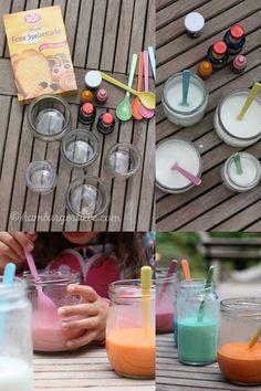 Hamburger Liebe: Tutorial Tuesday: Wie man Straßenmalfarbe selber- und Ferienkinder glücklich macht