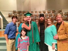 Reed silas robertson-jase's son- graduated 2014