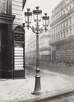 Paris - City of gas lights) Light (c. Vintage Paris, Old Paris, History Of Photography, Paris Photography, Vintage Photography, Landscape Photography, Travel Photography, Vintage French Posters, Vintage Poster