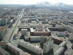Norilsk an industrial city in Siberia Russia  #city #norilsk #industrial #siberia #russia