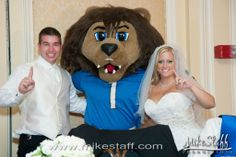 How to arrange a mascot appearance for your wedding.  #WeddingPlanning #Chicago #Michigan #MikeStaffProductions