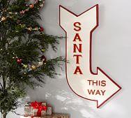 santa this way   Pottery Barn