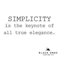 Truthbomb! #minimalism #blackisback #nordicstyle #spring #cocochanel #blackswanfashiondk
