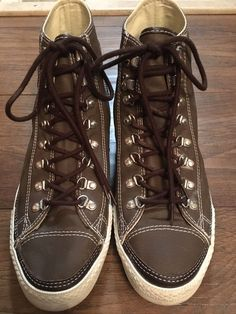 7f54c35b9634 Converse All Star Chuck Taylor Unisex High Top Shoes Brown Size 10  fashion   clothing