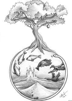 pencil drawings easy drawing beginner simple nature sketching idea beginners cool sketches ac fairies