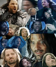 And in the collage above, you'll see my most favorite character of all time making beautiful faces
