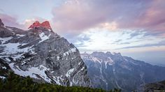 Sunrise Mountains by Schwarzlmüller Photography on 500px