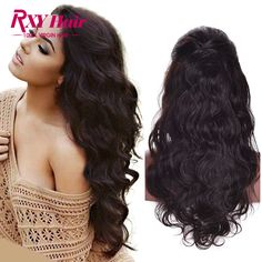 Peruvian Lace Frontal Wig Body Wave Glueless Full Lace Human Hair Wigs With Baby Hair Lace Front Human Hair Wigs For Black Women ** Click the VISIT button for detailed description