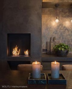 Are you looking to brighten up a dull room and searching for interior design tips? Home Fireplace, Modern Fireplace, Fireplace Design, Fireplace Remodel, Fireplaces, Interior Design Living Room, Living Room Designs, Interior Decorating, Metal Wall Decor