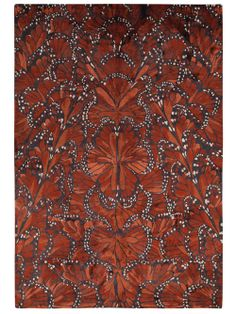 An Amazing Alexander McQueen Rug // monarch butterfly pattern rug