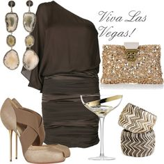 Personal Stylist for Vegas: Schue Love - A Thoughtful Place Mode Collage, Las Vegas Party, Anniversary Dates, Casino Outfit, Personal Stylist, Casino Royale, Casino Night, Party Printables, Style Me