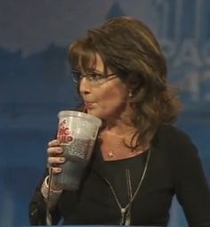 Sarah Palin Drink Big Gulp at CPAC 2013 | Wizbang