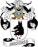 De Moscoso Spanish Coat Of Arms www.4crests.com #coatofarms #familycrest #familycrests #coatsofarms #heraldry #family #genealogy #familyreunion #names #history #medieval #codeofarms #familyshield #shield #crest #clan #badge #tattoo #crests #reunion #surname #genealogy #spain #spanish #shield #code #coat #of #arms