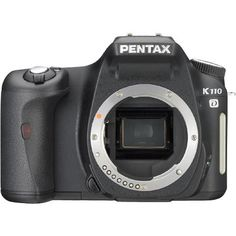 Pentax K110D 6.1MP Digital SLR Camera (Body Only) -- More info could be found at the image url. (This is an Amazon Affiliate link and I receive a commission for the sales)
