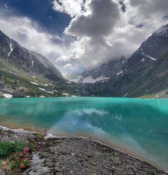 Middle Multinskoe lake, #Altai, #Russia