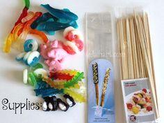 Candy Kabob | I Heart Nap Time - How to Crafts, Tutorials, DIY, Homemaker