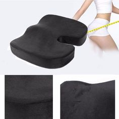 14.33$  Watch now - Office Memory Foam Coccyx Orthoped Masaej Pad Support Lumbar Cushion Pain Relief Buttocks shaping Massage Pad  #magazineonline