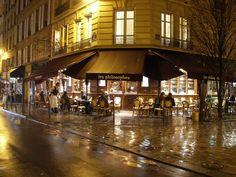 les philosophes cafe  28, Rue Vielle du Temple, Marais, Paris IV  (CW9-9)