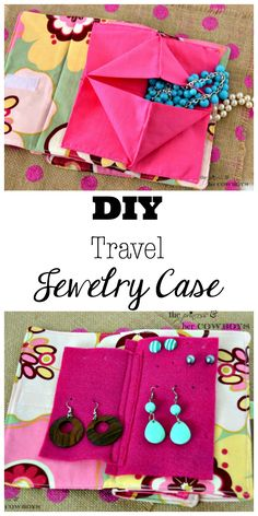 DIY Travel Jewelry Case l The Princess & Her Cowboys