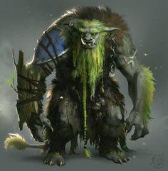 Guardião da floresta viva de Smiljhan
