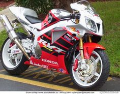 "2004 Honda RC51 ""Nicky Hayden Edition"""