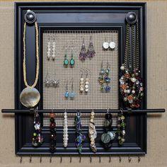 DIY Makeup & Jewelry Storage Ideas • Great Ideas & Tutorials!