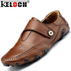 Cc Brand Fashion Trend Men Loafers Slip On Genuine Leather Mocassin Men Shoes Casual Driving Flat Men Octopus Shoes Plus Size alishoppbrasil