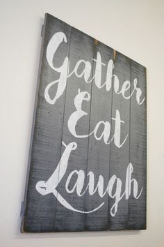 6af8a5d570 See more. Beautiful statement piece for your dining area! This is a large  wood pallet sign that