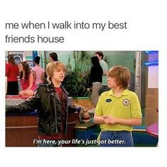 Well *laughing* i dont visit my best friend house. Crazy Funny Memes, Really Funny Memes, Stupid Funny Memes, Funny Relatable Memes, Haha Funny, Funny Texts, Hilarious, Funny Stuff, Bff Quotes