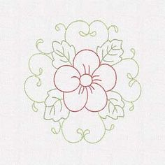 flower decor 4 set of 10 Embroidery Cards, Embroidery Stitches, Embroidery Patterns, Hand Embroidery, Machine Embroidery, Sewing Patterns, Buterfly Drawing, Hand Painted Fabric, Quilting