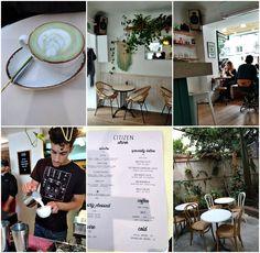 happy drinks - vegetarian & vegan friendly cafe in tel aviv Happy Drink, Matou, Tel Aviv, Vegan Friendly, Citizen, Vegan Vegetarian, Holi, Drinks, Garden