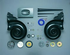 Bowers & Wilkins Nautilus speaker components