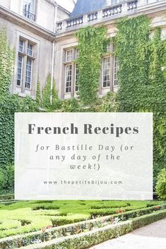 Bastille Day Recipes (Or Everyday French Recipes You Can Make!) – The Petite Bijou If you love French food, this Empanadas, French Dinner Parties, Happy Bastille Day, Nutella, French Lifestyle, French Dishes, Love French, Crepe Recipes, French Bistro