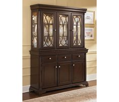 Signature Design by Ashley Linden Buffet with Hutch