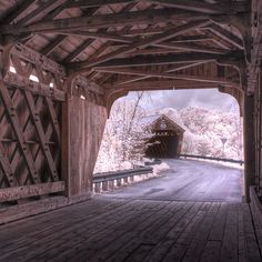 The covered bridges in Hartland | 34 Reasons Vermont Is The Most Beautiful Place In The World