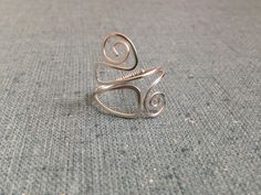Adjustable Wire Ring  on Etsy, $15.00
