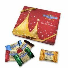 Ghirardelli Chocolate Gold Tree Gift
