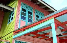 Colourful Kampung at Redang Island