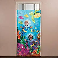 Mermaid Party Photo Door Banner