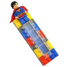 Superman Lego Mezuzah Product - The Jewish Museum Shops