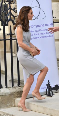 Catherine, Duchess Of Cambridge attends a Lunch In Support of the Anna Freud Centre on May 4, 2016 in London, England.