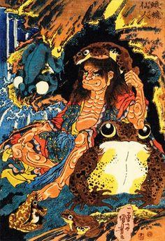 Kuniyoshi, Irezumi Tattoos, Samurai Warrior, Nihon, Woodblock Print, Japanese, Headpiece, Tutu, Projects