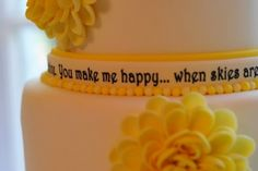 You Are My Sunshine! By Jaime3679 on CakeCentral.com