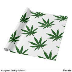 Marijuana Leaf Wrapp