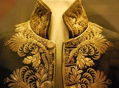 With gold embroidery. Doublet of the Palazzo Doria Tursi, Genoa