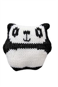 Babies Knitting Patterns Panda Toy Pattern