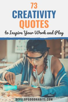 These creativity quotes can inspire you to be more creative and also inspire others so they can unleash their own creative expressions. Good Life Quotes, Work Quotes, Life Is Good, Best Inspirational Quotes, Inspiring Quotes About Life, Comfort Zone Quotes, Innovation Quotes, Creativity Quotes, Take The First Step
