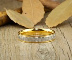 Handmade Gold Wedding Band, Golden Wedding Ring, #jewelry #ring @EtsyMktgTool http://etsy.me/2bPNFMy