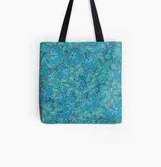 Continuous Line Drawing, Designer Totes, Violets, Reusable Tote Bags, Art Prints, Canvas, Printed, Drawings, Awesome